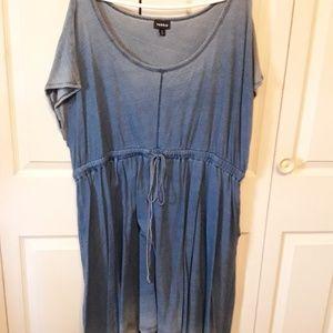 Torrid Mineral Wash Tee Dress Size 4x